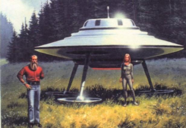 l'incontro tra il contattista Billy Meier e la pleiadiana Semjase (Large)